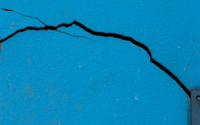 Descubre por qué las paredes pueden agrietarse